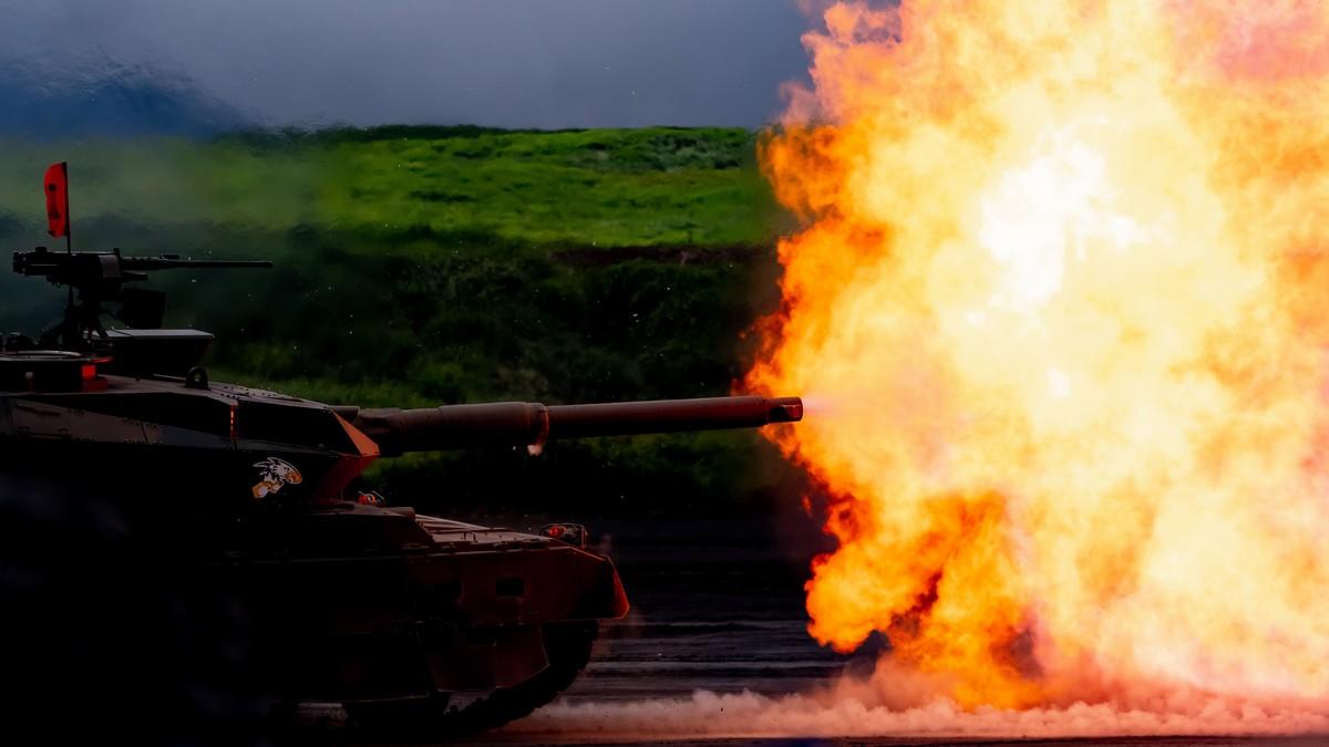 Tanková bitva ve World of Tanks.