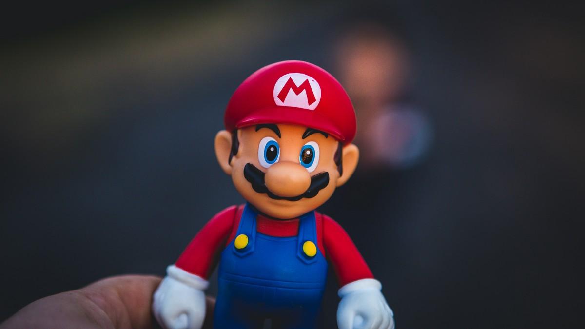 Postavička Super Mario, která je slavní po celém světě.